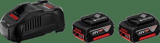 BOSCH Professional začetni komplet GAL 1880 CV + 2x GBA 18 V 5 Ah (1600A00B8J)