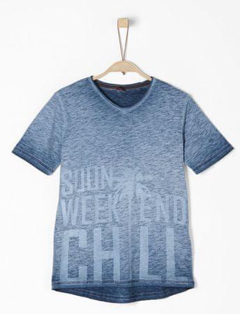 s.Oliver fiú póló S kék