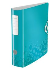 Mobilní pořadač Leitz 180° ACTIVE WOW A4 8,2 cm ledově modrý