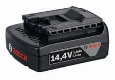 BOSCH Professional Li-Ion akumulatorska baterija GBA 14,4 V 1,5 Ah (1600Z00030)