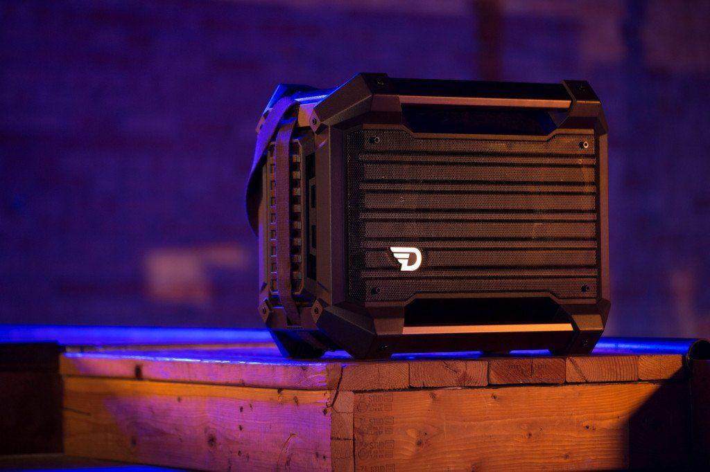 Bezdrátový Bluetooth reproduktor DreamWave RockStar voděodolný ipx5 masivní konstrukce