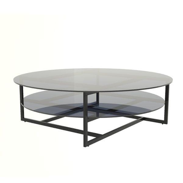 Design Scandinavia Konferenční stolek Locika kulatý, 120 cm