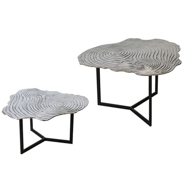 Papillon Konferenční stolek hliníkový Tree, 80 cm