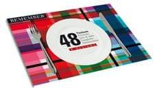 REMEMBER® Papírové prostírání Mix, 48 ks