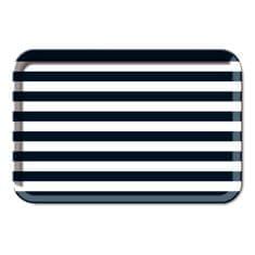 REMEMBER® Podnos melaminový Stripes, 44x29 cm