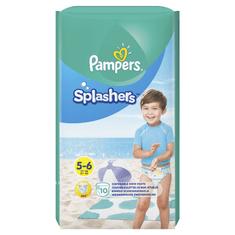 Pampers Splashers Plenkové kalhotky do vody S5 10ks (dárek)
