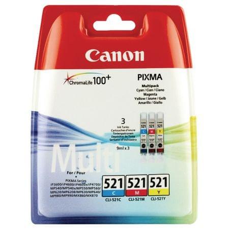 Canon Multipack kartuše CLI-521 C/M/Y