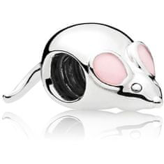 Pandora Śliczna koralikowa mysz 797062EN160 srebro 925/1000