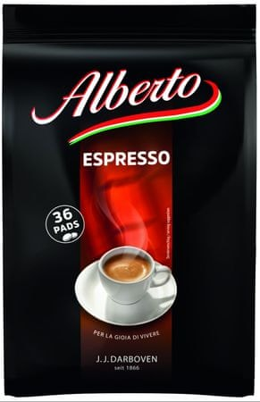 Alberto Espresso Pads 6x (36 x 7g)