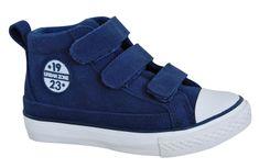 Protetika Boston fiú bőr bokacipő - kék