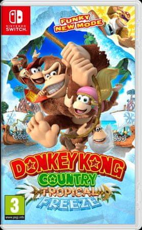 Nintendo igra Donkey Kong Country: Tropical Freeze (Switch)