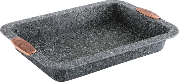 CS Solingen Hluboký plech s mramorovým povrchem Steinfurt 36x24cm