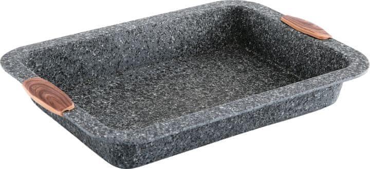 CS Solingen Hluboký plech s mramorovým povrchem Steinfurt 34x24 cm