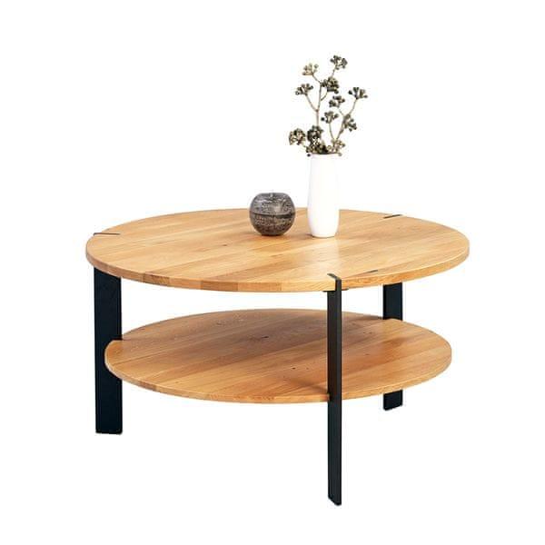 Artenat Konferenční stolek kulatý Arthur, 80 cm