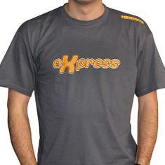 Mikbaits Pánské tričko Express - šedé