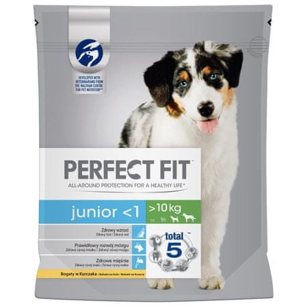 Perfect fit Dog granulátum Junior csirke M/L 1,4 kg