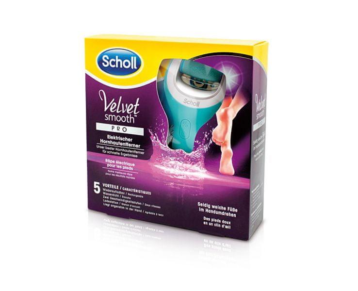 Scholl Elektrický pilník na chodidla do vody Velvet Smooth Pro (Wet And Dry)