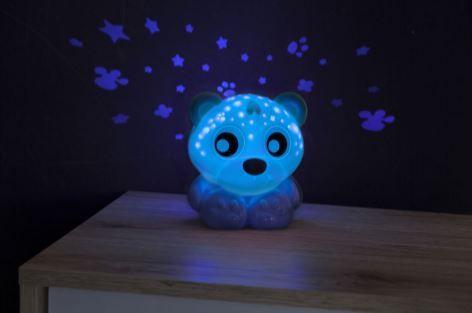 Playgro lučka za lahko noč s projektorjem, modra