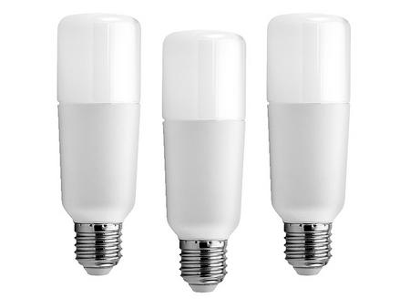GE Lighting LED žiarovka Bright Stik E27, 9W, studená biela