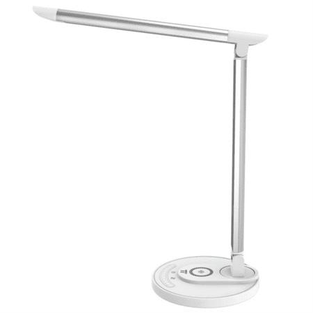 TaoTronics LED namizna svetilka z brezžično polnilno postajo DL36, bela