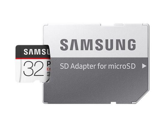 Samsung micro SDHC 32GB PRO Endurance + SD adapter (MB-MJ32GA/EU)