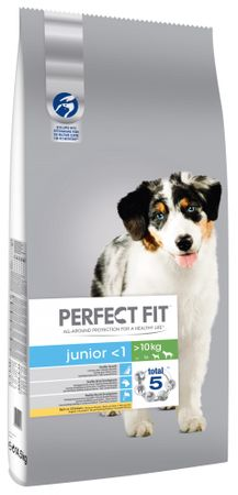 Perfect fit Junior bogaty w kurczaka M/L 14,5 kg