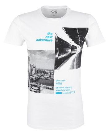 Q/S designed by T-shirt męski M biały