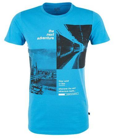 Q/S designed by T-shirt męski M niebieski