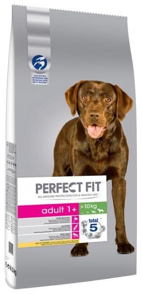 Perfect fit Dog granule Adult kuřecí M/L 14,5 kg