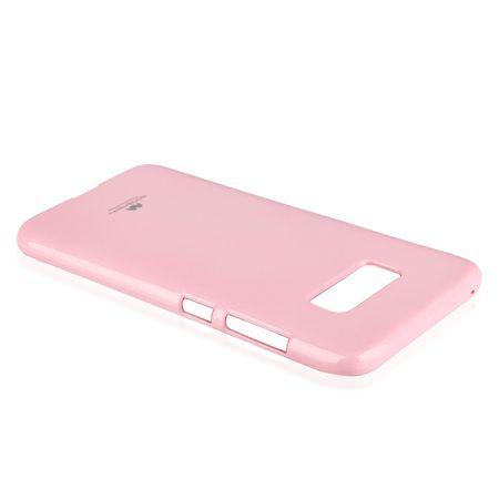 Goospery tanek silikonski ovitek Jelly za Samsung Galaxy S9 G960, roza