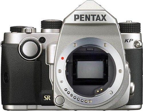 Pentax KP + DAL 18-50 DC WR RE Silver