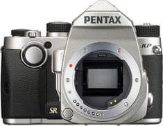 Pentax lustrzanka KP + DAL 18-50 DC WR RE Silver