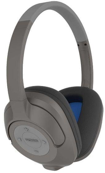 KOSS BT539i bezdrátová sluchátka, černá