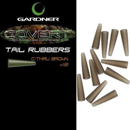 Gardner Prevleky Covert Tail Rubbers trans. hnedá