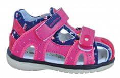 Protetika Dívčí sandály Martina - růžové