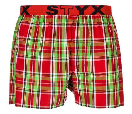 Styx moške boksarice M, rdeče