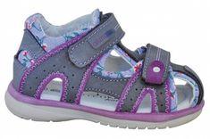 Protetika Dívčí sandály Martina - šedo-fialové