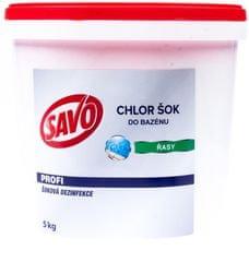 Savo Do Bazénu - Chlor Šok dezinfekce 5 kg