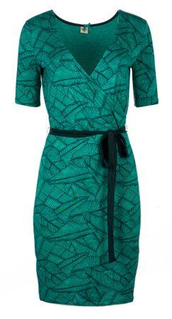 Timeout ženska haljina 34 zelena