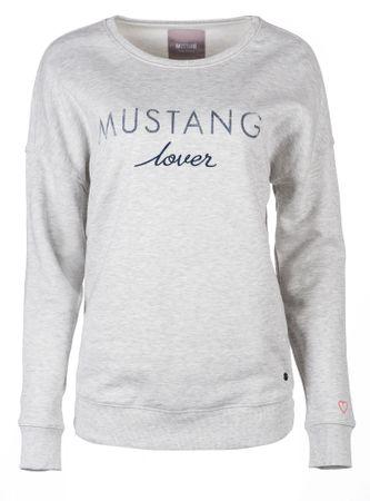 Mustang női pulóver Fancy XL szürke
