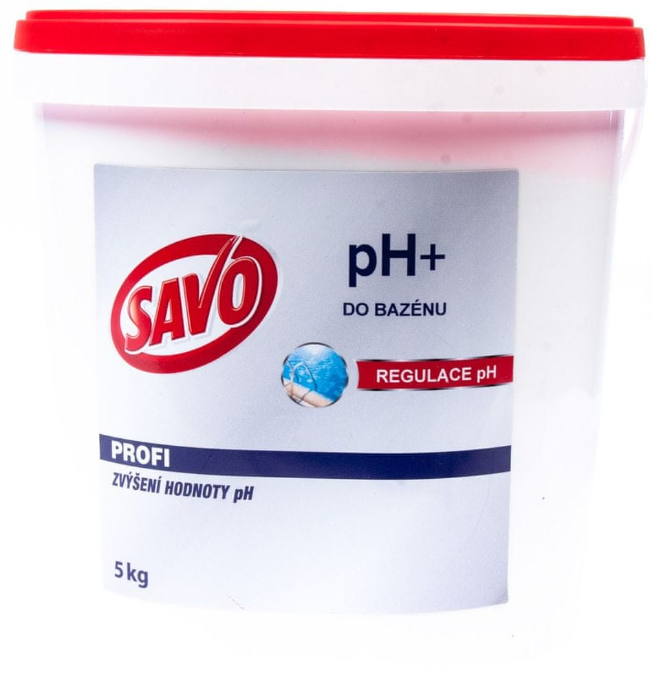 Savo Do Bazénu - pH+ zvýšení hodnoty pH 5 kg