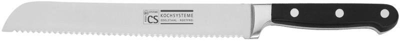 CS Solingen Nůž na pečivo Premium, 21 cm