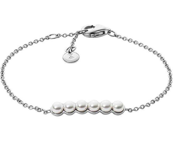 Skagen Ocelový náramek s perličkami SKJ1012040