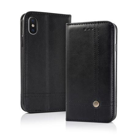 Havana preklopna torbica Prestige za iPhone 8, črna