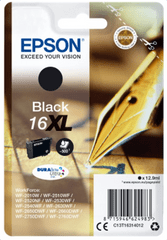 Epson Singlepack Black 16XL DURABrite Ultra Ink (C13T16314012)