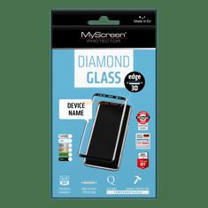 MyScreen Protector zaščitno kaljeno steklo Diamond Glass Edge 3D za Huawei P Smart, črno