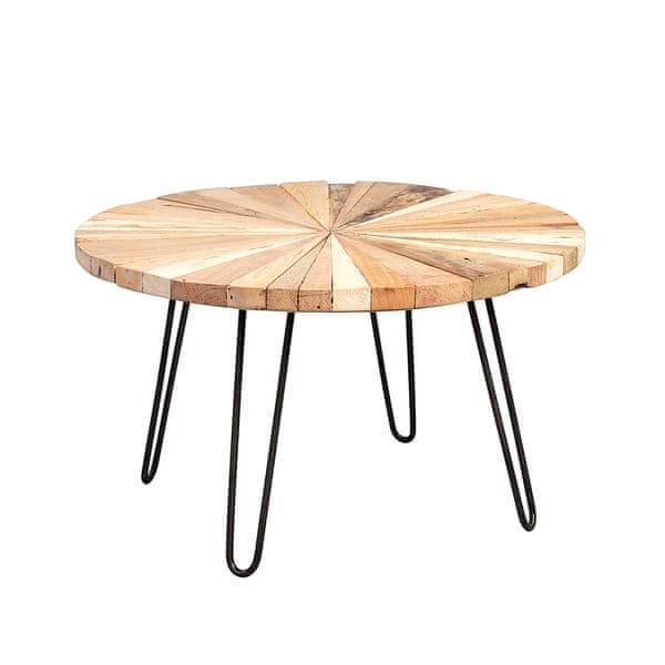 Artenat Konferenční stolek kulatý Sunny, 80 cm