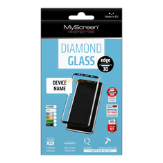 MyScreen Protector zaščitno kaljeno steklo Diamond Glass Edge 3D za Huawei P Smart, belo