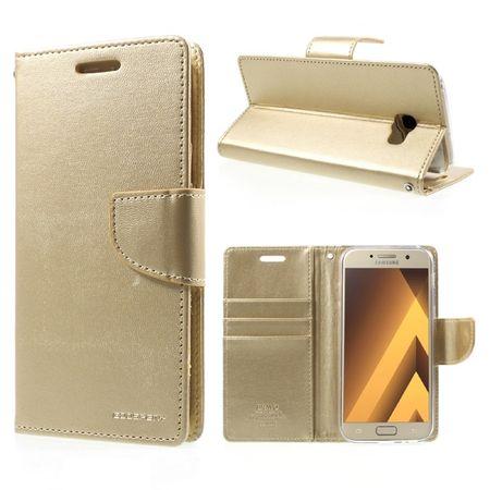 Goospery preklopna torbica Bravo Diary za Samsung Galaxy S9 G960, zlata