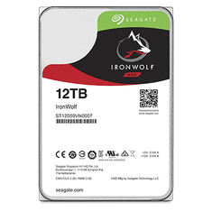 "Seagate NAS trdi disk IronWolf Pro 12 TB, 8,89 cm (3,5""), SATA 6 Gb/s,"